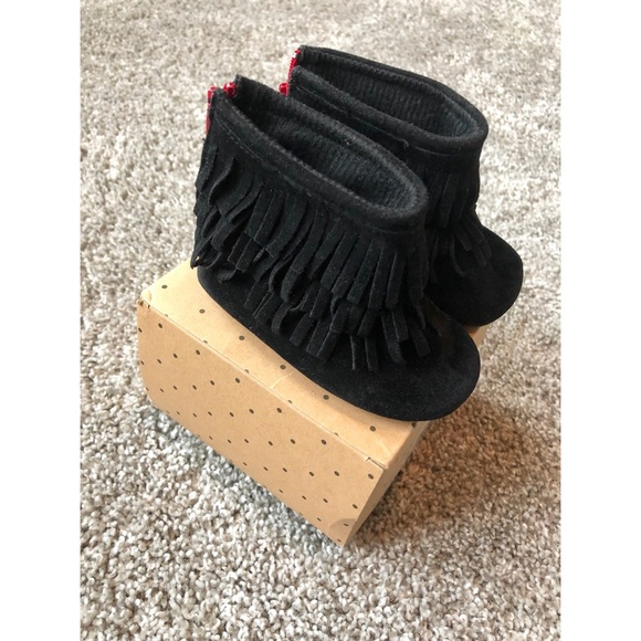64a1842aae3 Sweet n Swag - Black Moccasin with Red Bottom